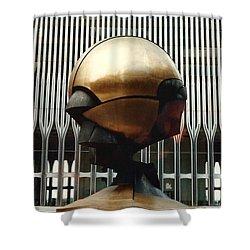 Sphere Shower Curtain by Bruce Lennon