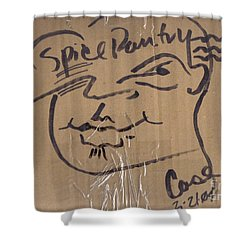 Spice Pantry Shower Curtain by Feile Case