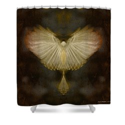 Spirit Rising Shower Curtain by WB Johnston