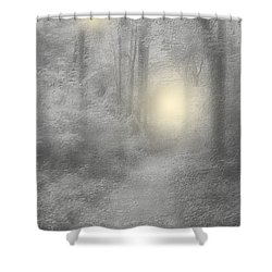 Spirits Of Avalon Shower Curtain by Roxy Riou