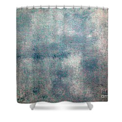 Sponged Shower Curtain by Joseph Baril