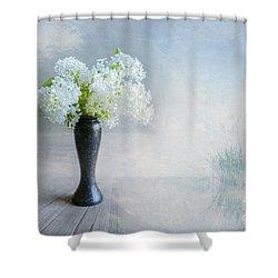 Spring Flowers Shower Curtain by Veikko Suikkanen