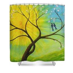 Spring Shower Curtain by Veikko Suikkanen