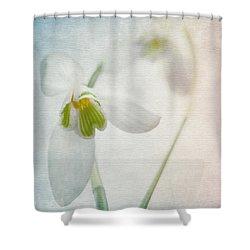 Springflower Shower Curtain by Annie Snel