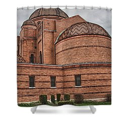 St Casimir's 10248 Shower Curtain by Guy Whiteley
