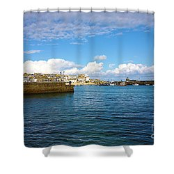 St Ives Cornwall Shower Curtain by Terri Waters