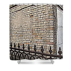 St Louis Cemetery No. 1 Shower Curtain by Beth Vincent
