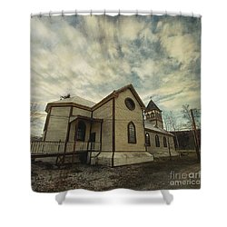 St. Pauls Anglican Church Shower Curtain by Priska Wettstein