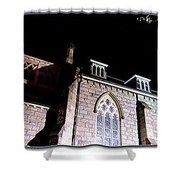 St. Paul's Presbyterian Church Shower Curtain by Danielle  Parent