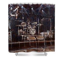 Stage Shower Curtain by Josh Hertzenberg