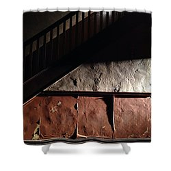 Stairwell Shower Curtain by H James Hoff