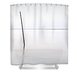 Standing Alone Shower Curtain by Jorge Maia