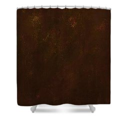 Standing By Two Rivers Shower Curtain by Frances Marino