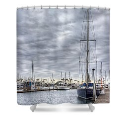 Standing Tall Shower Curtain by Heidi Smith