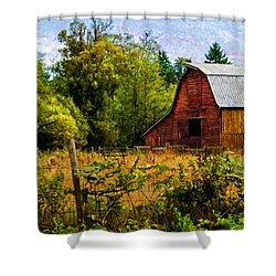 Standing The Test Of Time Shower Curtain by Jordan Blackstone