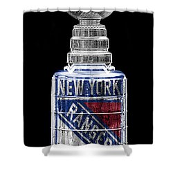 Stanley Cup 4 Shower Curtain by Andrew Fare