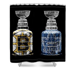 Stanley Cup Original Six Shower Curtain by Andrew Fare
