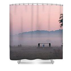 Start Shower Curtain by Dattaram Gawade
