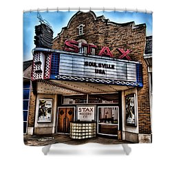 Stax Records Shower Curtain by Stephen Stookey