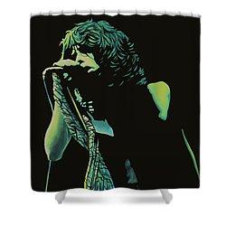 Steven Tyler 2 Shower Curtain by Paul Meijering