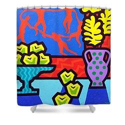Still Life With Matisse Shower Curtain by John  Nolan