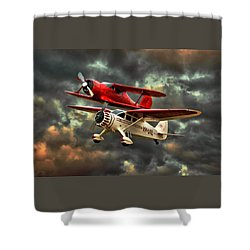 Stinson And Beech Shower Curtain by Steven Agius