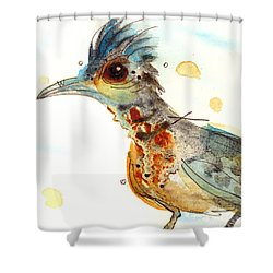 Stop And Smell What? Shower Curtain by Dawn Derman