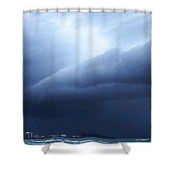 Storm Over Siesta Key - Beach Art By Sharon Cummings Shower Curtain by Sharon Cummings