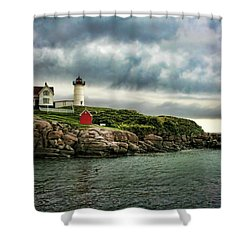 Storm Rolling In Shower Curtain by Heather Applegate