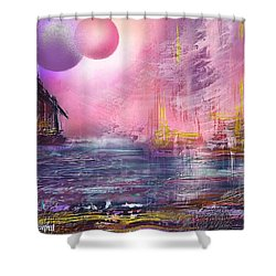 Stormway Shower Curtain by Francoise Dugourd-Caput