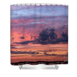Stormy Skies Shower Curtain by Dora Sofia Caputo Photographic Art and Design