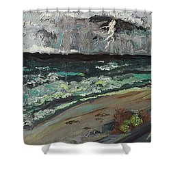 Stormy Weather Shower Curtain by Joseph Demaree