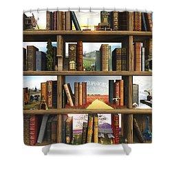 Storyworld Shower Curtain by Cynthia Decker
