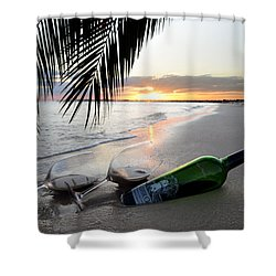 Lost In Paradise Shower Curtain by Jon Neidert
