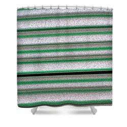 Straw Green Shower Curtain by Carol Lynch