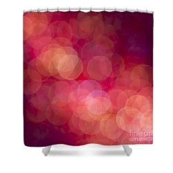 Strawberry Sherbet Shower Curtain by Jan Bickerton