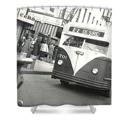 Streetcar Named Desire Shower Curtain by Cynthia Decker