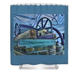 Sugar Mill Gizmo Shower Curtain by Deborah Boyd