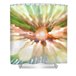Suicide Blonde Shower Curtain by Dazzle Zazz