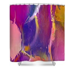 Sultry Movement Shower Curtain by Omaste Witkowski