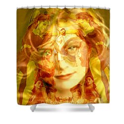 Sum Of All Desires Shower Curtain by Seth Weaver