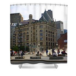 Summer Afternoon In Boston Shower Curtain by Dora Sofia Caputo Photographic Art and Design