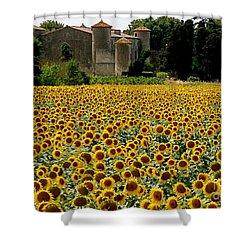 Summer Bliss Shower Curtain by France  Art