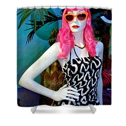 Summer Chic Shower Curtain by Ed Weidman