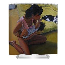 Summer Morning Cabot Arkansas Shower Curtain by Thu Nguyen
