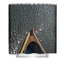 Summertime Serenity Shower Curtain by Tim Allen