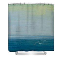 Sunbathed Shower Curtain by Jan Roelofs