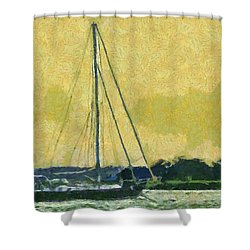 Sundown Impressions Shower Curtain by Barry Jones