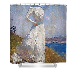Sunlight Frank Weston Benson 1909 Shower Curtain by Movie Poster Prints