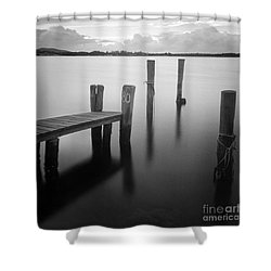 Sunrise At Tuncurry New South Wales Shower Curtain by Colin and Linda McKie
